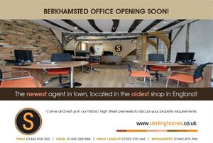 New Berkhamsted Office NOW OPEN