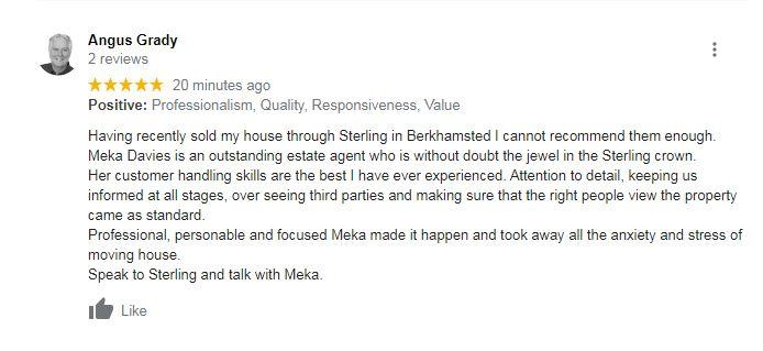Another great review for team Berkhamsted!